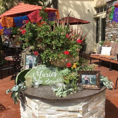 Marie Baby Shower (patio entrance), Sept 3rd, 2017